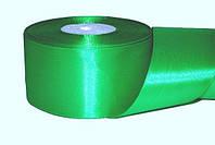 Атласная лента, ширина 2,5 см, 1 м, цвет зеленый травяной