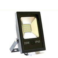 Светодиодный прожектор BIOM 20W SMD-20-Slim 6500К 220V IP65