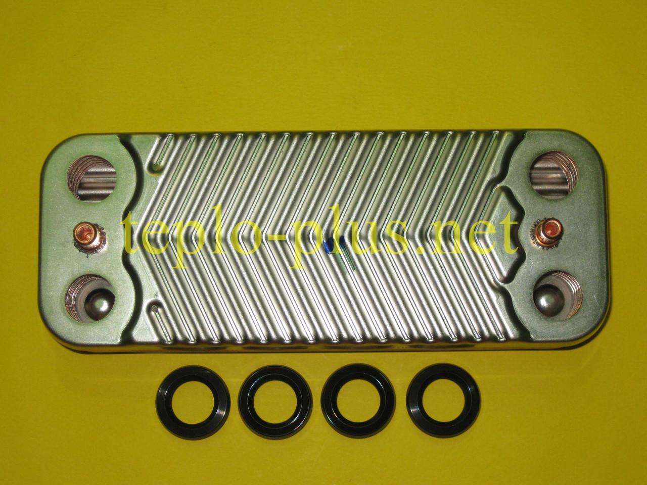 Теплообменник вторичный 3.021692 Immergas Nike Mini 24 3E, Eolo Mini 24 3E, фото 2