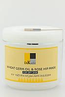 Маска масло пшеницы и шиповник для сухой кожи 250 мл. Dr.Kadir