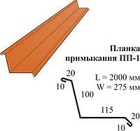 Планка примыкания 2м (красная, зелёная, коричневая)