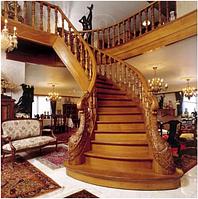Ступени и комплектующие для лестниц (дуб,бук).