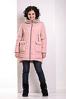 Зимняя комфортная куртка-парка Пуховик Большие размеры