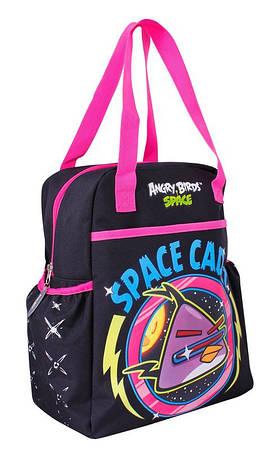 """Вертикальная сумка в принт для девочек """"Angry Birds"""" Cool for school AB03827 черный/принт"""
