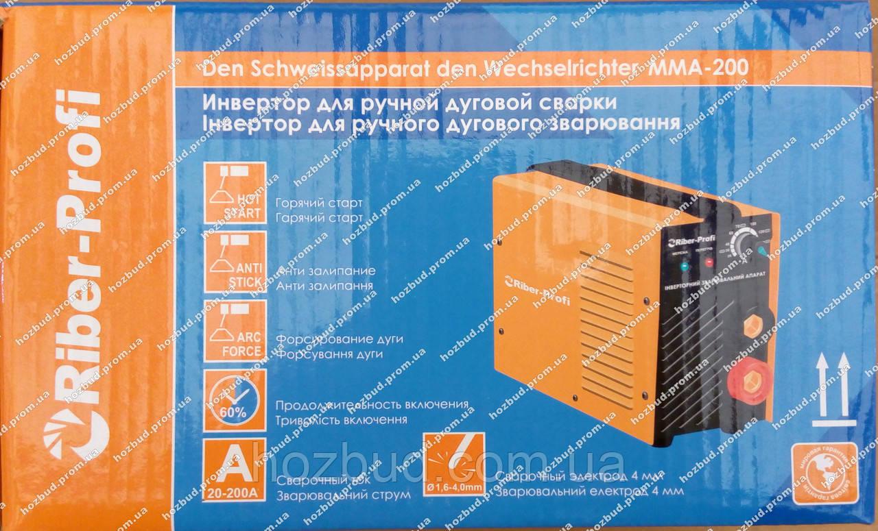 Сварочный инвертор Riber-Profi ММА-200