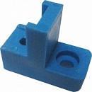 Угловой квадратный изолятор нулевой шины