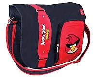 """Удобная сумка чере плечо для подростка """"Angry Birds"""" Cool for school AB03859 черный/принт"""