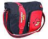 """Комфортная сумка для подростка через плечо """"Angry Birds"""" Cool for school AB03860 черный/принт"""
