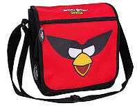 """Подростковая сумка в школу через плечо """"Angry Birds"""" Cool for school AB03864 черный/принт"""