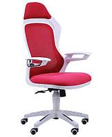 Кресло Spider GTX сетка красная/каркас белый