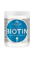 Маска Kallos Biotin для улучшения роста волос, 1000 мл