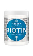Маска Kallos Biotin для поліпшення росту волосся, 1000 мл