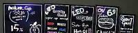Рекламная LED-доска флуоресцентная