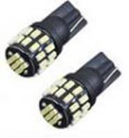 Светодиодная лампа T10 - W5W 30SMD (3014) Black + драйвер