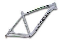 Велосипедная рама  spelli 26 SX 5500 .19 ,белая