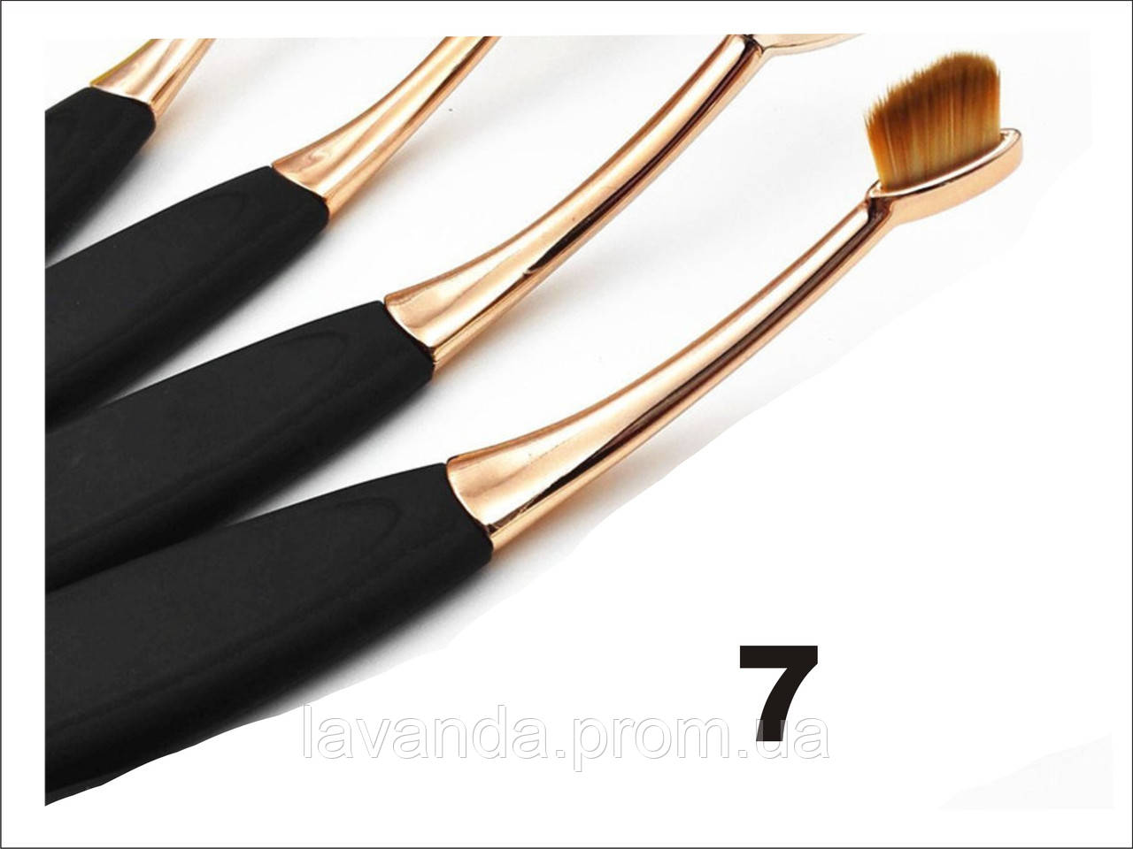 Кисть щётка овал Linear 2 №7 золото