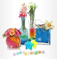 Гидрогель для цветов, аквагрунт - 6 цветов