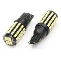Светодиодная лампа T10 - W5W 54SMD (3014) Black + драйвер
