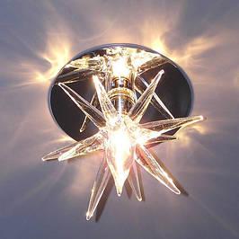 Декоративные точечные светильники (стекло)
