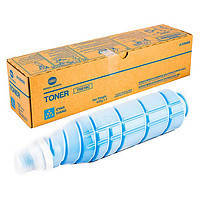 TN615С тонер Cyan (голубой) Konica Minolta для bizhub C8000 на 75 000 копий
