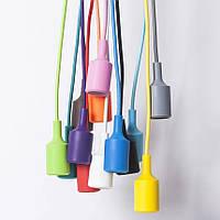 Патроны силиконовые [ серия Color line ] (& потолочные крепления), фото 1