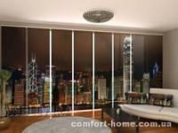 Панельная штора Гонконг горизонт комплект 8 шт