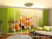 Панельная штора Весенние цветы комплект 8 шт