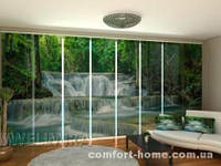 Панельная штора красота Таиланда комплект 8 шт