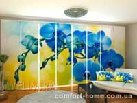 Панельная штора Королевская Орхидея 2 комплект 8 шт