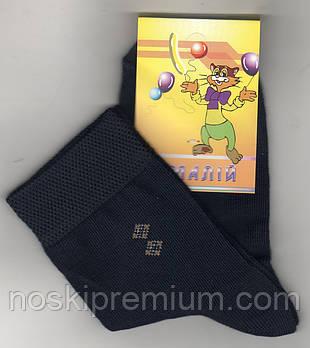 Детские носки демисезонные х/б Смалий, рис 44, цвет 27, 18 размер (27-29), 10227