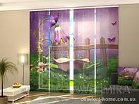 Панельная штора Сказочный душ комплект 4 шт