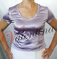 Трикотажная футболка с коротким рукавчиком
