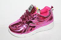Новинки спортивной обуви. Кроссовки на девочек от фирмы Леопард FA92-8 (12пар 31-36)