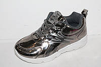 Новинки спортивной обуви. Кроссовки на девочек от фирмы Леопард FA92-28 (12пар 31-36)