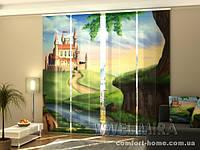 Панельная штора Замок для принцессы комплект 4 шт
