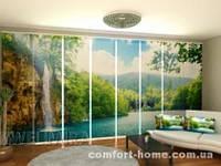 Панельная штора Райский уголок комплект 8 шт