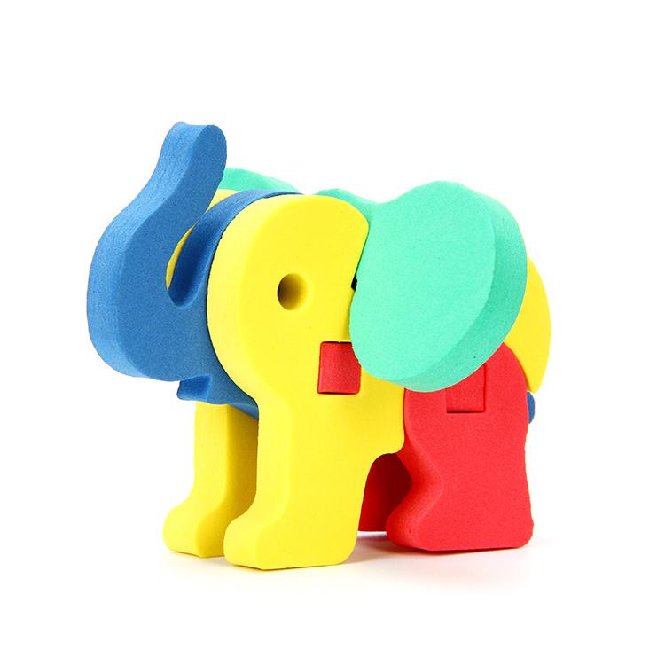 Объемный конструктор «Слон», Бомик