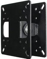 Кронштейн Квадо К19. Наклонное или поворотное настенное крепление для ТВ 14-23