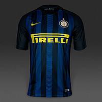 Футбольная форма 2016-2017 Интер (Inter), домашняя, сине-черная, м12