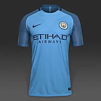 Футбольная форма 2016-2017 Манчестер Сити (Manchester City), домашняя, синяя, м23