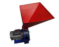 Зернодробилка бытовая Млинок: 1,7 кВт, производительность 170 кг/ч, бункер 5 л, 220 В, 26х26х58 см