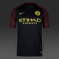 Футбольная форма 2016-2017 Манчестер Сити (Manchester City), выездная, черная, м24
