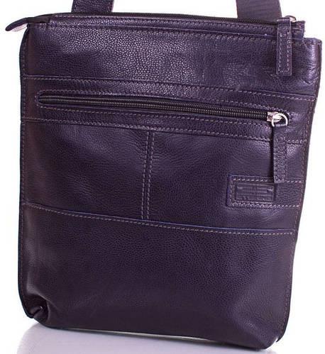Кожаная мужская сумка-планшет ETERNO (ЭТЭРНО) ERM514BL Синий