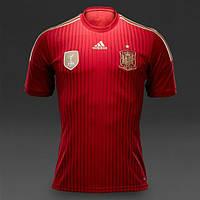 Футбольная форма сб. Испания ЧМ 2014
