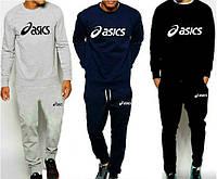 Спортивный костюм Asics, асикс, реглан, большое лого, в наличии, молодежный, К78
