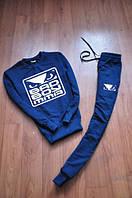 Спортивный костюм bad boy, бед бой, синий, реглан, трикотаж, брендовый, новый, К88