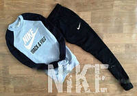Спортивный костюм Nike, спортивный костюм найк, все размеры, унисекс, с большим лого, К154