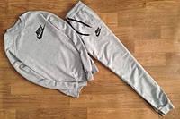 Спортивный костюм Nike, костюм мужской найк, цвет:серый, отличного качества, все размеры, К172