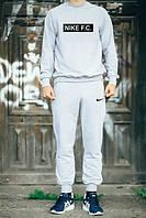 Спортивный костюм Nike, спортивный костюм, найк, отличного качества, цвет: серый, К178