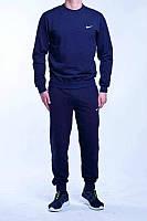Зимний спортивный костюм, теплый костюм Nike, Найк, унисекс, цвет: чёрный, мужской костюм, К190